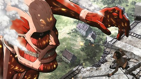 shingeki  kyojin anime colossal titan wallpapers hd