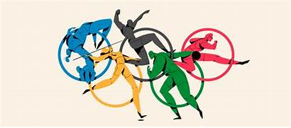 Olympia Olympic Animated Olympics Athletes Animation Rio
