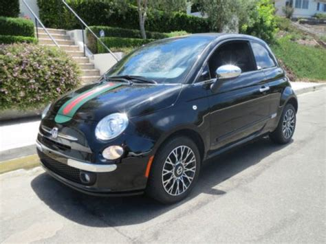 Gucci Fiat Convertible by Buy Used 2012 Fiat 500 Convertible Gucci Edition 2 Door 1