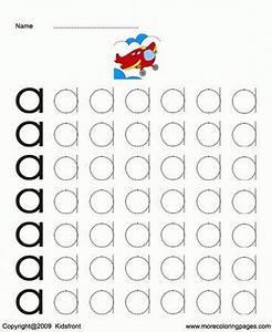 Small letter dot to dots a sheet gyerekfoglalkoztok for Dots alphabet letter