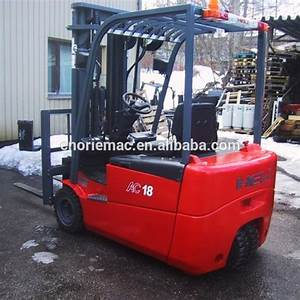 Heli Forklift Electrical Three Wheel Forklift Cpd15 1500kg