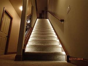 Lighting for the home illuminate the staircase leading to for Interior rope lighting ideas