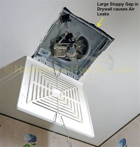 How to Remove a Bathroom Vent Fan