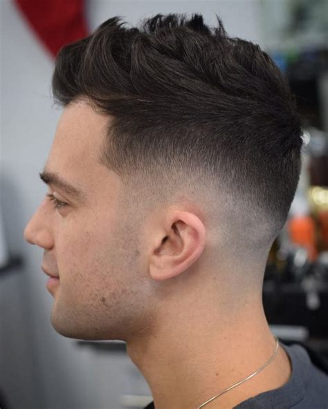 amazing sexy faux hawk fade haircuts