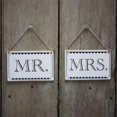Vintage Style 'mr And Mrs' Wedding Signs By Ginger Ray. Reinforcement Decals. Space Grey Decals. Gold Swirl Banners. Hand Written Lettering. Border Clipart Banners. Gothic Style Lettering. Custom Printed Backdrops. Ashu Logo