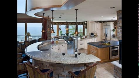 curved island kitchen designs curved kitchen island designs 6330