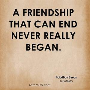 Friendships Ending Quotes About Life. QuotesGram