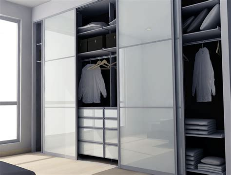 modern closet with laminate floors by modu home zillow