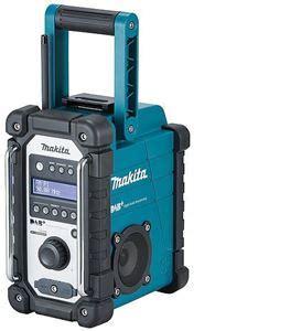 makita radio dab makita dmr110 dab radio og fm frekvens 7 2 18 v