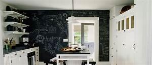 peinture tableau noir les 5 etapes pour la reussir With conseil pour peindre un mur 5 idees couleurs pour notre salonsam