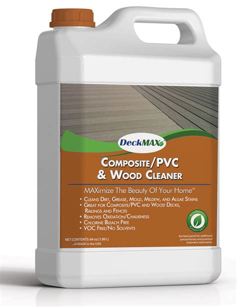 deckmax  deck cleaner  restore  deck pvc wood