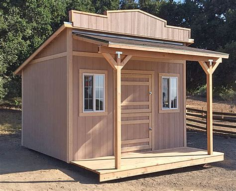 shed styles california custom sheds western roof style