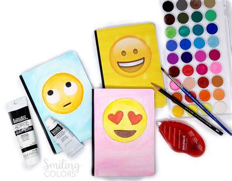 video      unique emoji notebook covers