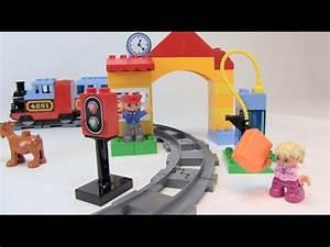 Eisenbahn Starter Set : lego duplo eisenbahn starter set test review youtube ~ A.2002-acura-tl-radio.info Haus und Dekorationen