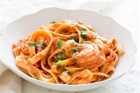 Shrimp Pasta alla Vodka Recipe (with video ...