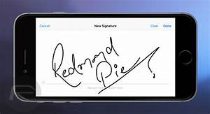 how to digitally sign documents on iphone or ipad using With how sign documents on iphone