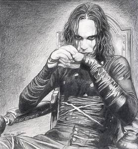 Brandon Lee - The Crow by Elodie76 on DeviantArt