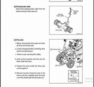 Hyundai 35l 40l 45l 50l 7a Forklift Truck Service Repair