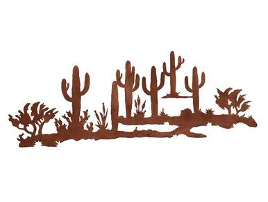 desert scene metal wall art southwest wall decor