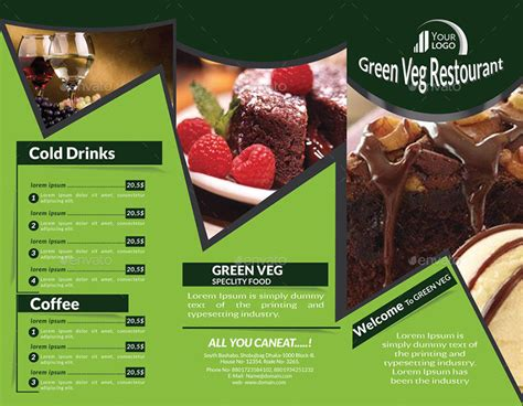 Food Brochure Templates by 22 Tri Fold Brochure Templates 2017 Free Premium