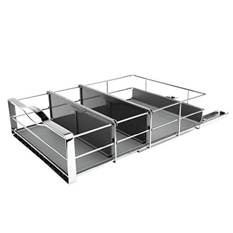 simplehuman 14 in pull out cabinet organizer simplehuman kt1119 simplehuman 14 inch pull out cabinet