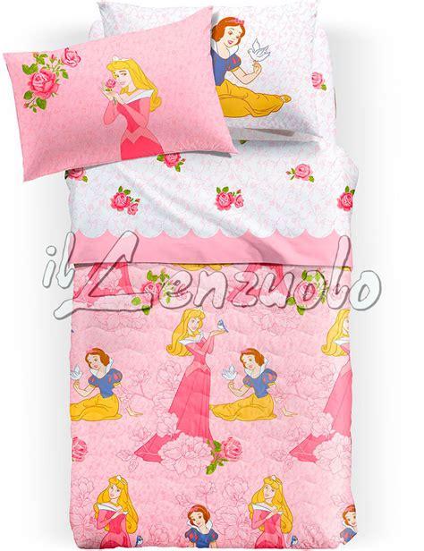 Copriletto Principesse Disney by Copriletto Disney Trapuntato Una Piazza E Mezza Princess