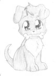 Cute Chibi Puppy Drawings