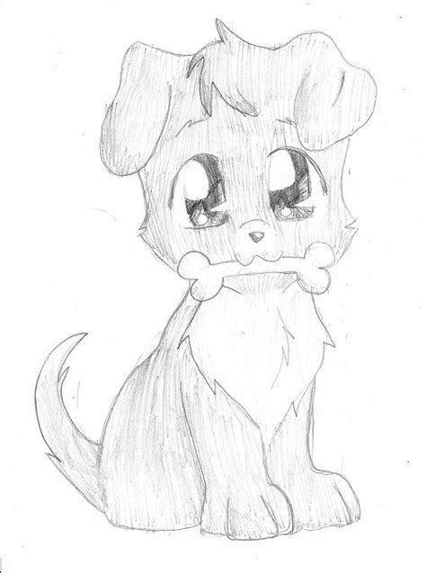 puppy drawings coloring pages cute easy drawing litle pups
