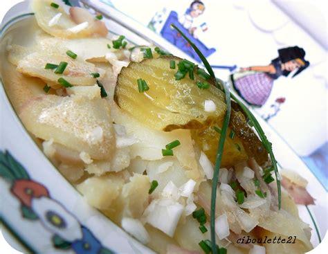 salade de pomme de terre alsacienne barbecue entre amis