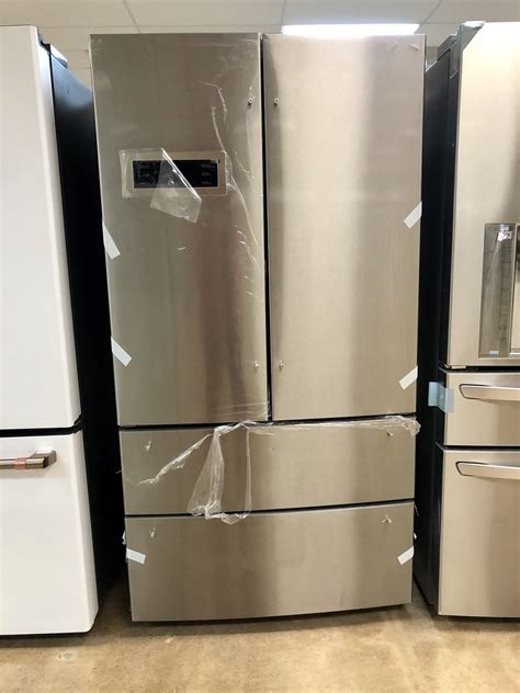 bosch french  door refrigerator  stainless steel  dual compressor  appliance outlet