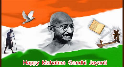 happy mahatma gandhi jayanti status