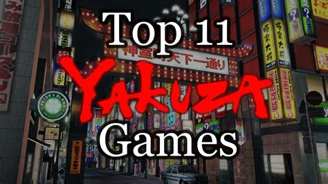 top  yakuza games youtube