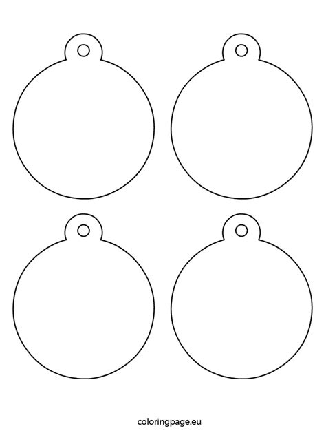 christmas ornament templates 2017 template design