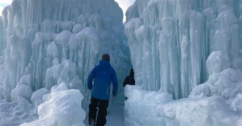 lake geneva ice castles finally open