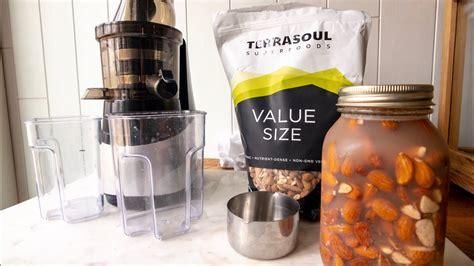 almond milk juicer slow