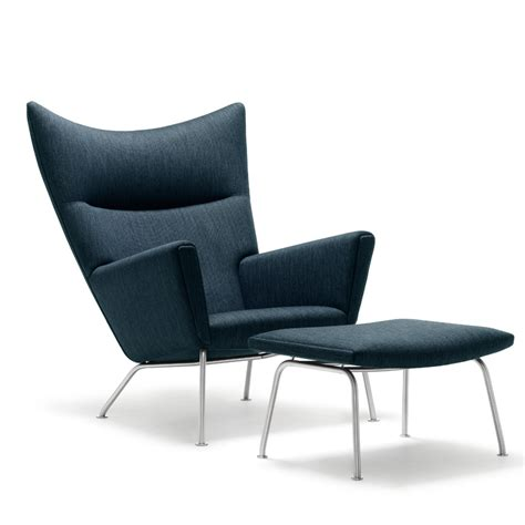 wing chair by hans j wegner ch445 carl hansen s 248 n
