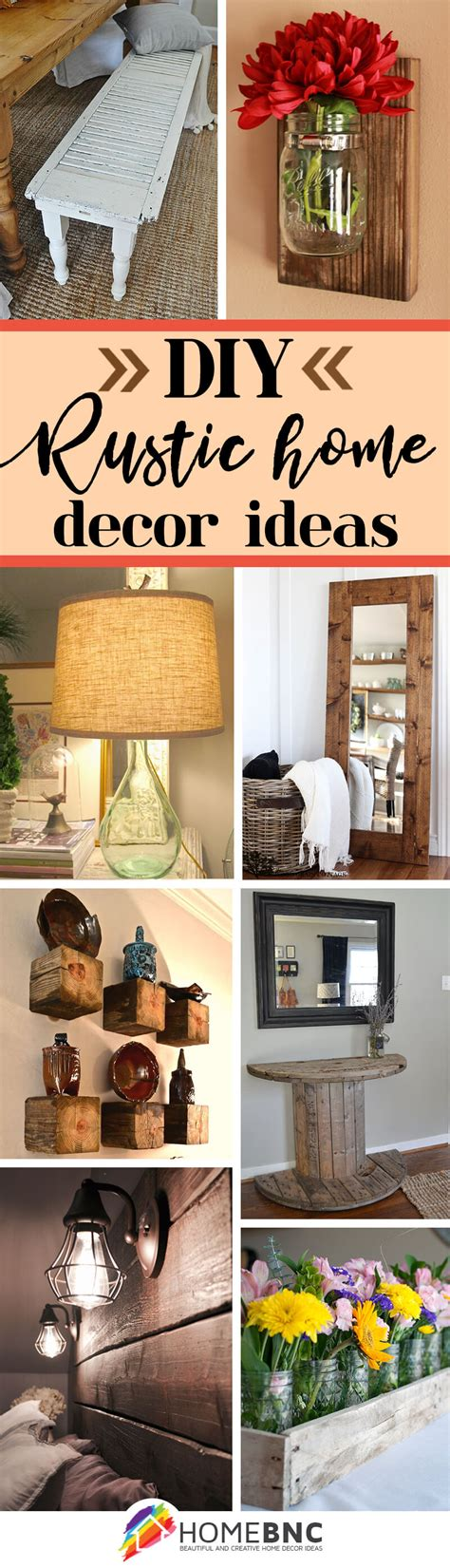 home decor ideas 39 best diy rustic home decor ideas and designs for 2017 Diy