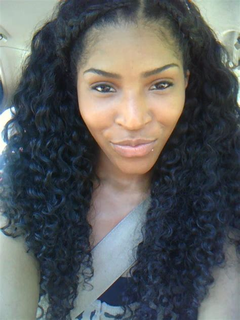 malaysian hair style curly sew ins hairstyle for 8611