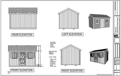 10x14 shed plans pdf great free 10x14 gable shed plans haddi