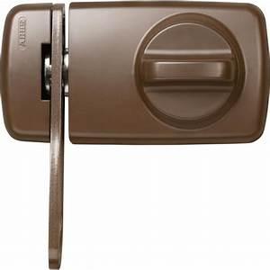 Verrous De Porte : abus verrou de porte 7030 marron achat vente serrure ~ Edinachiropracticcenter.com Idées de Décoration