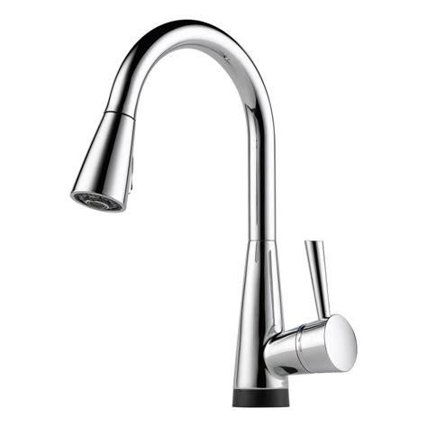 brizo kitchen faucets faucet com 64070lf pc in chrome by brizo