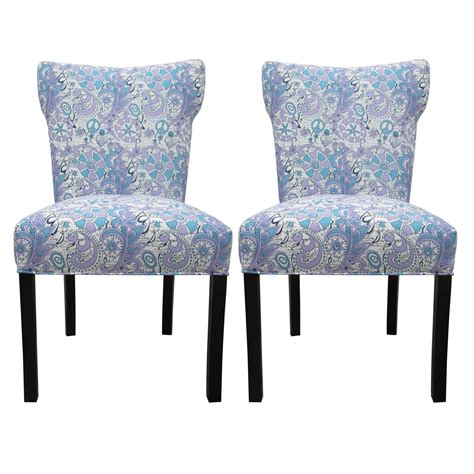 Beautiful Dining Room Chairs by Blue Upholstered Dining Chairs Homesfeed