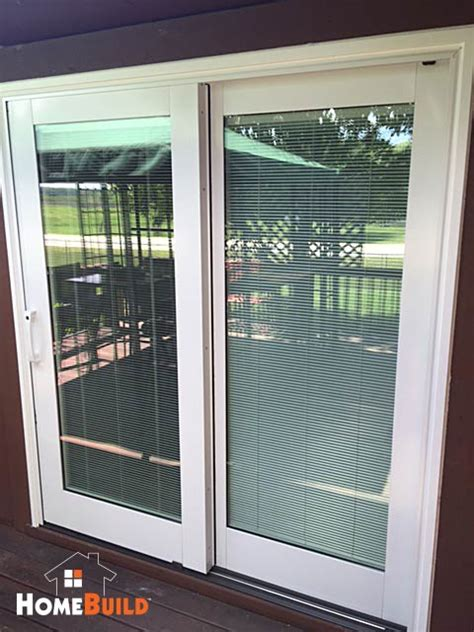 from hinged patio door to sliding patio door home build