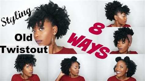 styling   twistout  ways natural hair style youtube