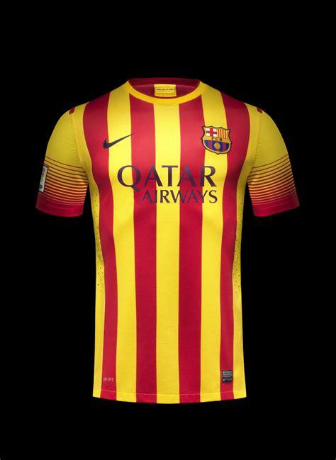 nike unveils  fc barcelona home   kits nike news