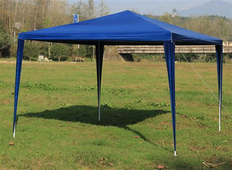 marque canape buy 3x3m gazebo outdoor marquee tent canopy blue at