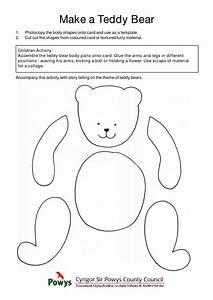 best photos of teddy bear cut out template bear cut out With template for a teddy bear