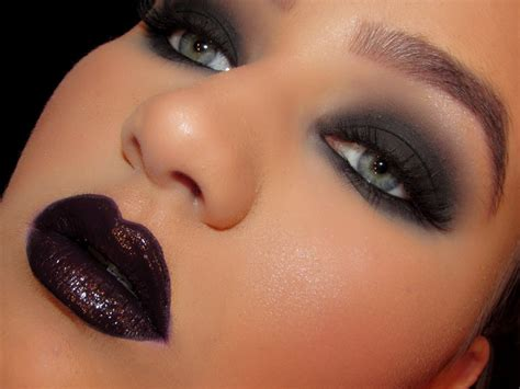 bold beautiful black smokey eyes makeup tutorial step  step
