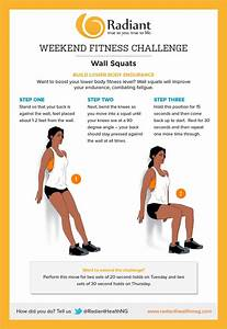 Weekend Challenge  Wall Squats