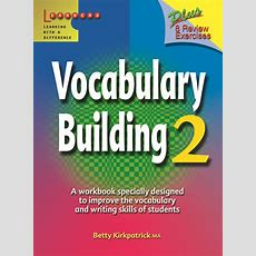 Vocabulary Building  Book (level 2) By Betty Kirkpatrick On Eltbooks  20% Off